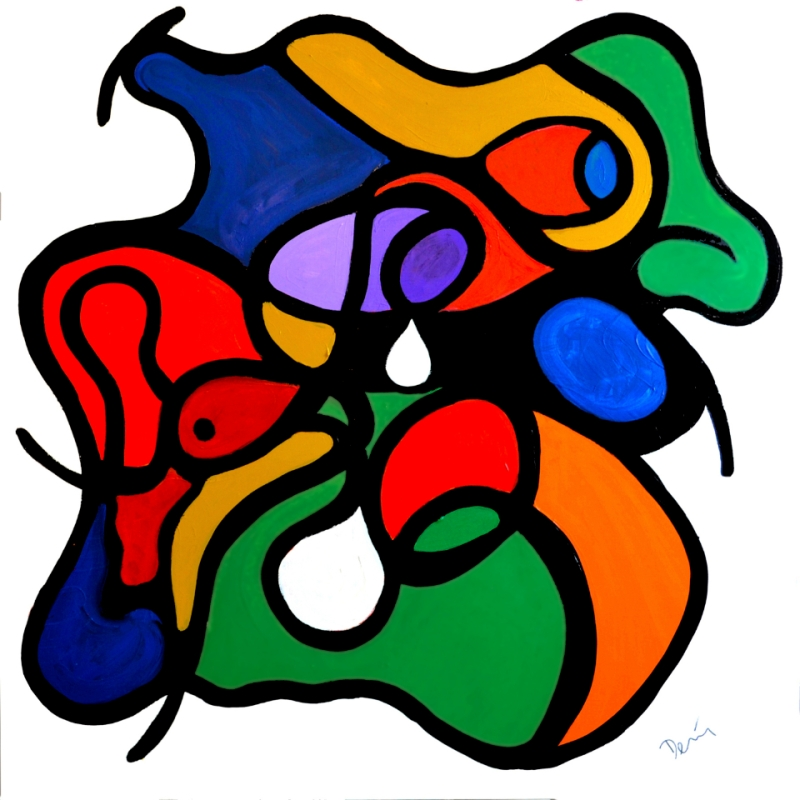 Seminal Paintings bt Denis taylor